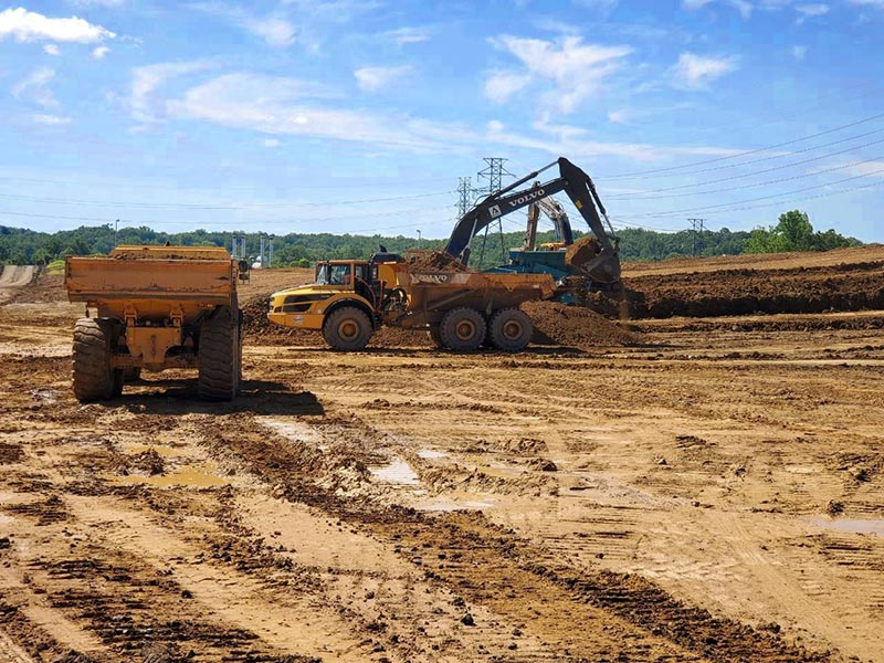 Grading and Hauling Services
